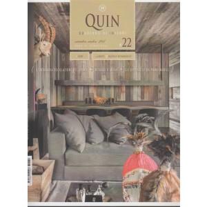 """Quin """"Quaderno di Interni"""" - bimestrale n. 22 settembre 2017 Retagg D'Antan"""