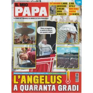 Il mio Papa - settimanale n. 29 - 12Luglio 2017 - l'Angelus a quaranta gradi
