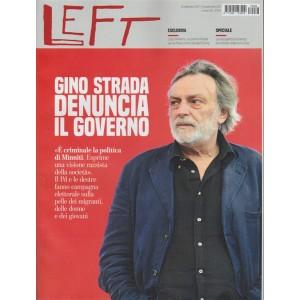 Left - settimanale n. 38 - 23 settembre 2017 - Gino Strada denuncia il Governo
