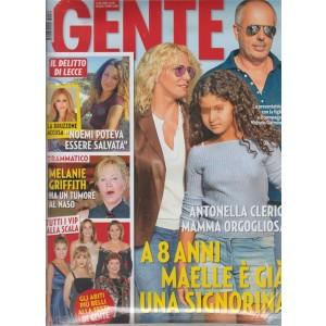 Gente - settimanale n. 39 - 3 Ottobre 2017 Antonella Clerici Mamma orgogliosa
