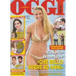 Oggi - settimanale n. 40 - 28 Settembre2017 - Michelle Hunziker: avere 40 anni