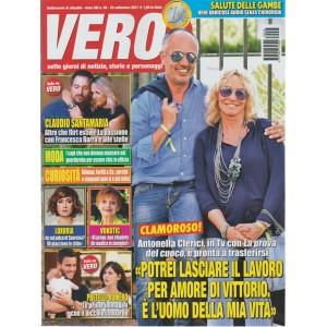 Vero - settimanale n.3-28 settembre2017 -Pretelli-Romero con il piccolo Leonardo