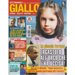 Giallo: settimanale n.28 -19 Luglio 2017 Massimo Bossetti nelle mani del Giudice