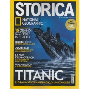 Storica - mensile n. 104 Ottobre 2017 By National Geographic