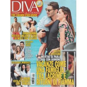 Diva e Donna -Settimanale n.28 -18 Luglio 2017 Belen e Stefano:ritorni di fiamma