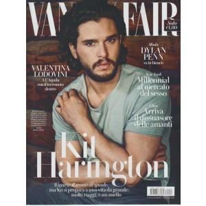 Vanity Fair - Settimanale n.28- 19 Luglio 2017 Kit Harington e il Trono di Spade