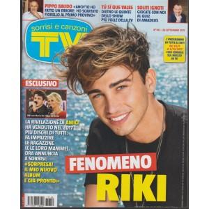Sorrisi eCanzoni Tv - settimanale n. 40 - 26 Settembre 2017 Fenomeno RIKI