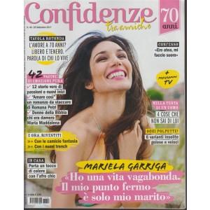 Confidenze - settimanale n.40 -26settembre2017 Mariella Garriga: solo mio marito