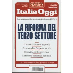 Guida Giuridica Italia Oggi - La Riforma Del Terzo Settore - 16 Settembre 2017