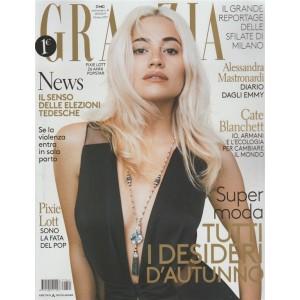Grazia - settimanale n. 41 - 28 ottobre 2017 - Pixie Lott 26 anni Popstar
