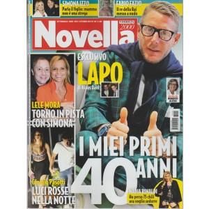 Novella 2000 - settimanale n.40 - 5 Ottobre 2017 Fabio Fazio re della RAI a nudo