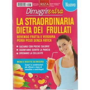 RIZA Dimagrirextra - bimestale n. 7 Luglio 2017 Dieta dei Frullati