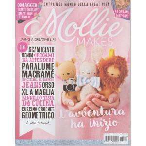 Mollie Makes - bimestrale n. 1 Ottobre 2017 La collana easy-chic