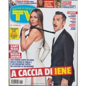 Sorrisi e Canzoni Tv - settimanale n. 41 - 3 ottobre 2017 A caccia di IENE