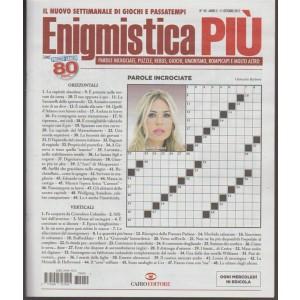 Enigmistica Più - settimanale n. 40 - 11 Ottobre 2017