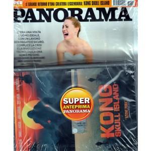 Panorama - settimanale n. 30 (2668) - 13 Luglio 2017 + DVD KONG Skull Island
