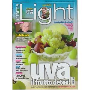 """Vivere Light """"in forma"""" - mensile n. 109 Settembre 2017 UVA il frutto detox!"""