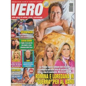 Vero- settimanale n.40 -12 ottobre2017 Laura Torrisi a Formentera con Luca Betti