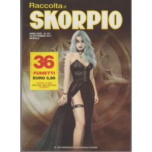 "Raccolta di Skorpio - mensile n. 531 - ottobre 2017 "" 36 fumetti"