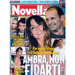 Novella 2000 - settimanale n. 29 - 20 Luglio 2017 - Ambra, non fidarti