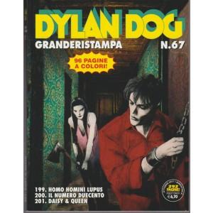 Dylan Dog Granderistampa - bimestrale n.67 Ottobre 2017 - Sergio Bonelli editore