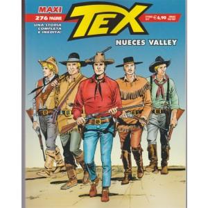 Tex Maxi - annuale n.21 Ottobre 2017 - Nueces Valley -Serio Bonelli editore