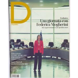 D Donna - settimanale n. 60 allegato alla Repubblica di Sabato 7 Ottobre 2017