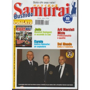 """Samurai """"Bushido Pugilato"""" - mensile n. 10 Ottobre 2017 - Solo chi osa vale!"""