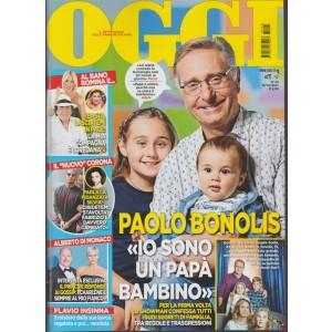 Oggi - settimanale n. 43 - 19 Ottobre 2017 Paolo Bonolis... papà bambino