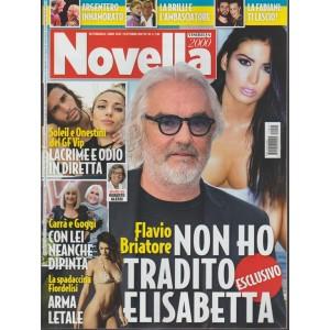 Novella 2000 - settimanale n. 42 -19 Ottobre 2017 Argentero innamorato