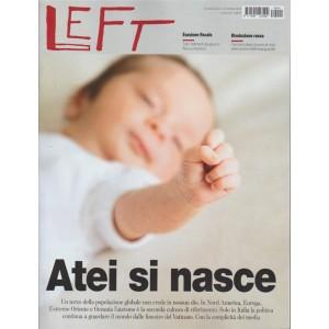 LEFT - Settimanale n. 41 - 14 Ottobre 2017 - Atei si Nasce