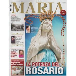 Maria - mensile n. 12 Ottobre 2017 la potenza del ROSARIO