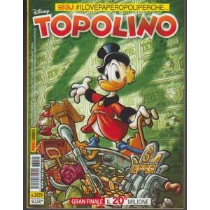 Disney Topolino - Settimanale n.3229 - 11 Ottobre 2017 - Panini Comics