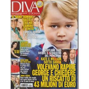 Diva e Donna - settimanale n. 41 - 17 Ottobre 2017 Raoul Bova mai visto così