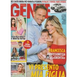 Gente - settimanale n. 28 - 18 luglio 2017 - La Fichera con la figlia e Volandri