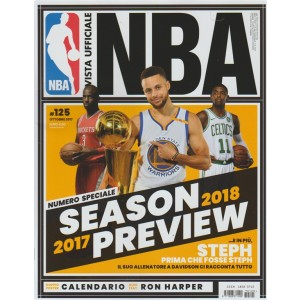 Rivista Ufficiale NBA-mensile n.125 Ottobe2017 Speciale:Season 2017 Preview 2018
