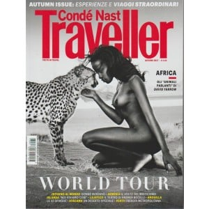 """Condé Nast Traveller - trimestrale n. 73 Autunno 2017 - gli """"Animali parlanti"""""""