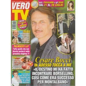 """Vero Tv - settimanale n. 39 - 31 Luglio 2017 Cesare Bocci incontra """"Borsellino"""""""