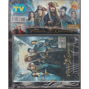 Sorrisi e Canzoni Tv -settimanale n.3- 17 Ottobre2017+ DVD Pirati dei Caraibi...