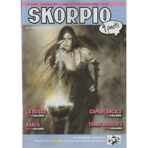 Skorpio - settimanale di fumett n. 2120 - 19 Ottobre 2017 (9 Fumetti