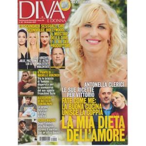 Diva e Donna - settimanale n.42 - 24 Ottobre2017 - Clerici: la dieta dell'amore