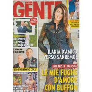 Gente - settimanale n. 43 - 31 ottobre 2017 - Ilaria D'Amico verso Sanremo