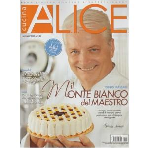 Alice Cucina - mensile n.11 novembre 2017 - 121 ricette - 8 scuole di cucina