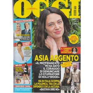 Oggi-settimanale n.44 -26 Ottobre2017 -Asia Argento... il torbido caso Weinstein