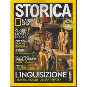 Storica - mensile n. 105 Novembre 2017 by National Geographic