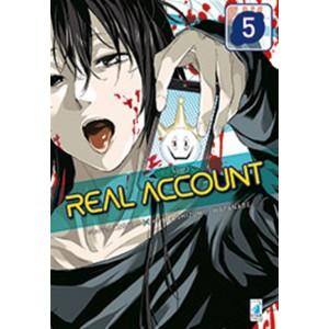 Manga: REAL ACCOUNT #5 - Star comics collana Kappa extra #224