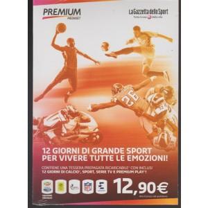 Tessera prepagata Mediaset Premium - 12 giorni di grande sport by la gazzetta dello Sport