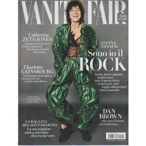 """Vanity Fair - settimanale n.43-1 Novembre2017 - Gianna Nannini """"Sono io il rock"""""""