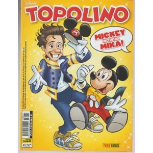 Topolino Disney - Settimanale n. 3231 - 25 Ottobre 2017 Mickey incontra Mika