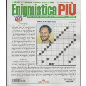 Enigmistica Più - settimanale n. 43 - 1 Novembre 2017